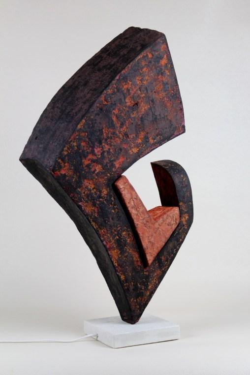 Paper Pulp Lamp 1 - Weibach2 - Oliver Neumann