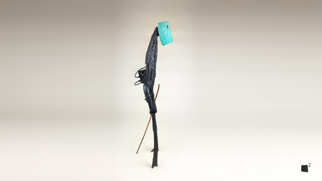 Kuiko The Wanderer - Abstract Mixed Media Sculpture - Weibach2