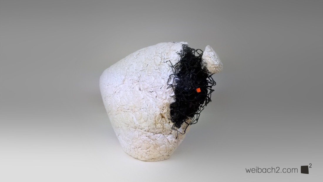 One Moment - Abstract sculpture by Weibach2