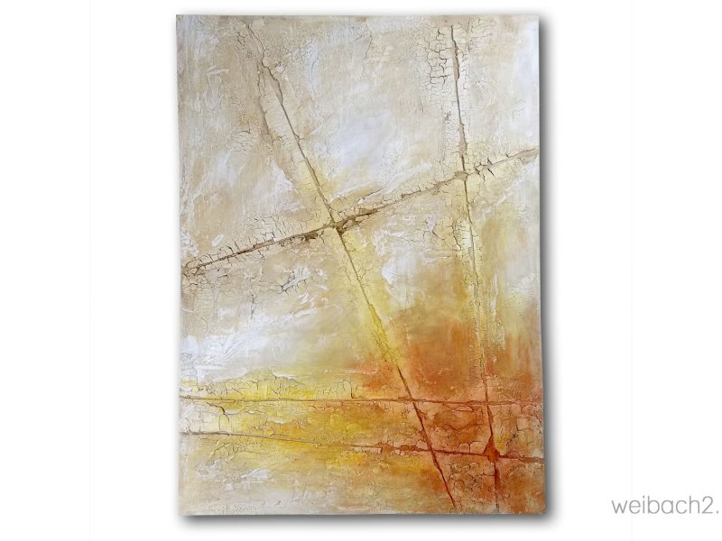 Where Are The People? - Abstract painting by Weibach2