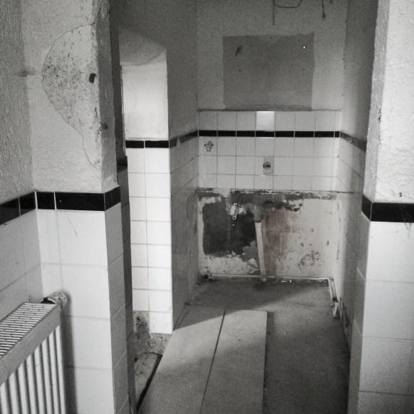 Hier soll schließlich bald eine Dusche hin!