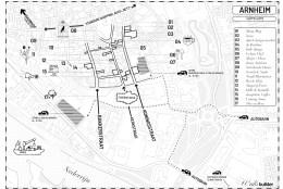Arnheim City Design Route