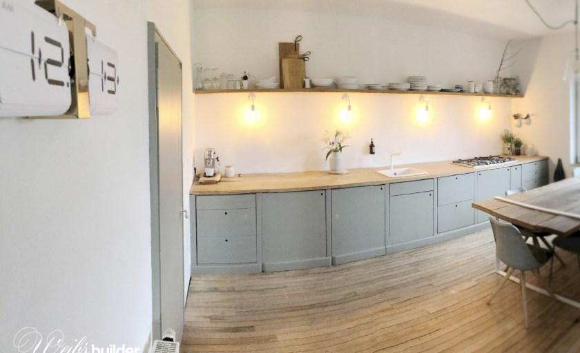 Küche fix und fertig!