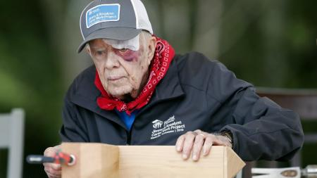 At 95, Jimmy Carter Is Still Living His Faith Through Service