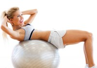 Home abs exercise