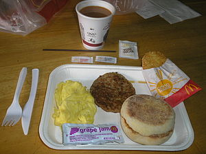 English: McDonald's Big Breakfast