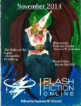 Flash Fiction Online Issue #14 November 2014 cover - click to view full size