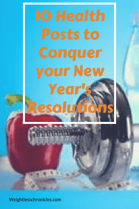 10 Health Posts to Conquer your New Year's Resolutions