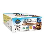51wuikp0THL - Garden of Life Organic Fit Bar, Peanut Butter Chocolate, 12 Count