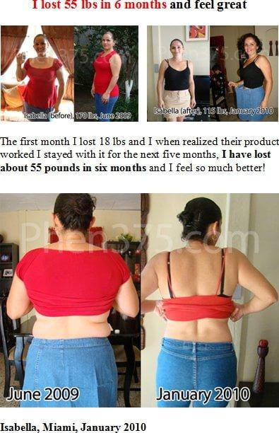 Isabella Miami Testimonial - Rapid Weight Loss Pills