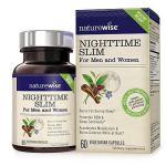 61rRQOcFnnL - NatureWise Night Time Thermo Blend Burns Fat and Promotes Restful Sleep, Dual-Function Formula, 30 count