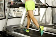 home workout on treadmill