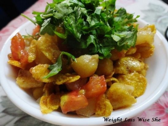 Heathy Diet Chaat Recipe For Weight Loss (2)