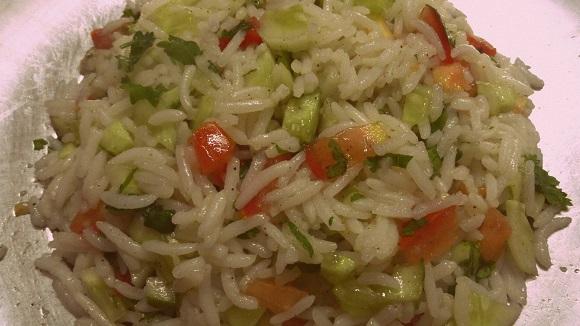 Healthy Brown Rice Salad Recipe