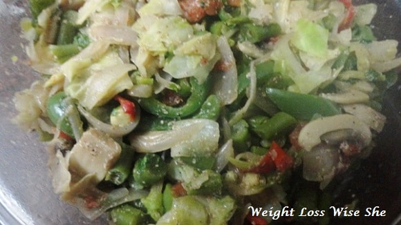 Sauteed Vegetables with Black Pepper Recipe