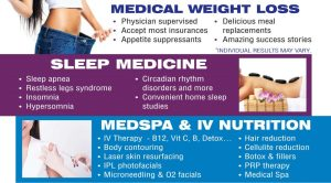 W8MD weight loss, sleep and medspa services