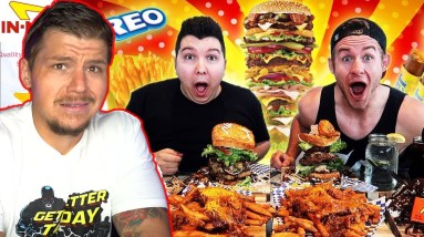 Eating Challenges Are UNHEALTHY! (Erik The Electric)