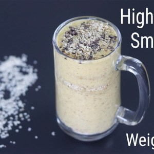 High Protein Breakfast Smoothie For Fat Loss/Weight Loss - Lose Weight Fast | Skinny Recipes