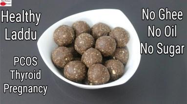 Healthy Laddu - No Ghee, No Oil, No Refined Sugar - Poongar Rice Laddu Recipe   Skinny Recipes