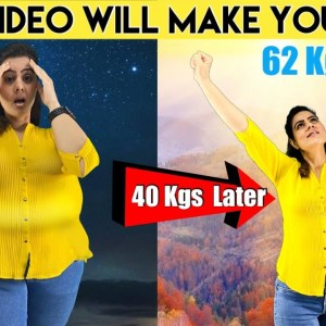 How I Lost 40 kgs with PCOD.My Weight Loss Transformation at Home.Weight Loss Motivation without Gym
