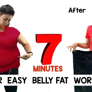 Easy Home Workout To Lose Belly Fat For Beginners | How To Lose Belly Fat with Easy Exercises