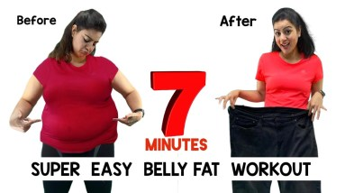 Easy Home Workout To Lose Belly Fat For Beginners   How To Lose Belly Fat with Easy Exercises