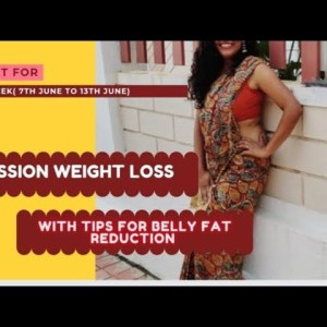 Weight loss plan for this week with belly fat reduction tips