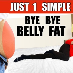 ONLY ONE  Easy & Best Exercise To Lose Belly Fat At Home For Beginners ( ALL YOU NEED )