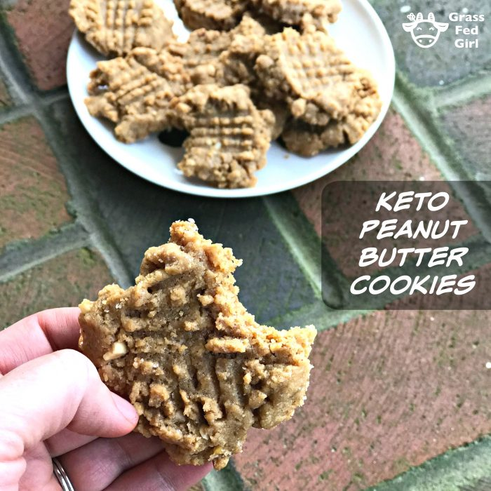 Low Carb and Keto Peanut Butter Cookies