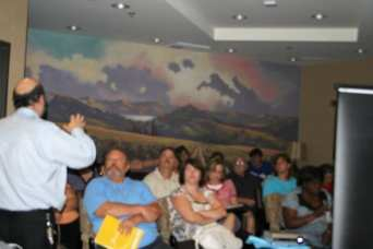 Dr. David Davtyan Educating Attendees About Different Weight Loss Procedures At His Educational Seminar In Rancho Cucamonga