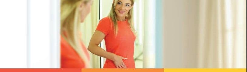 Una mujer que utiliza nuestra guía para después de la laparoscopia en Los Angeles, CA