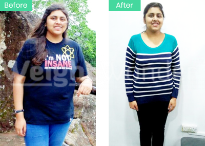 Sajal Patidar (Lost 13kgs)