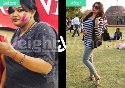 Savita Choudhary (Lost 25.3kgs)