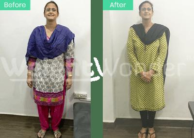 Zeenat Ali (Lost 18kgs)