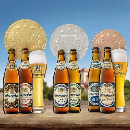 Medallas de Weihenstephaner en los AIBA