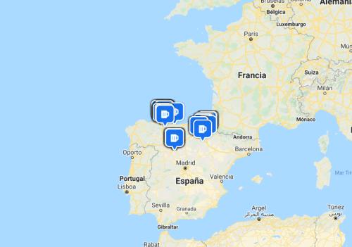 Mapa de Weihenstephaner