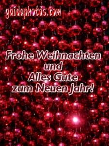 Weihnachtsbilder  kostenlos, Ketten, Weihnachtsgruesse, Rot