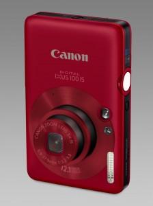 Weihnachtsgeschenk Digital IXUS 100 IS Rot