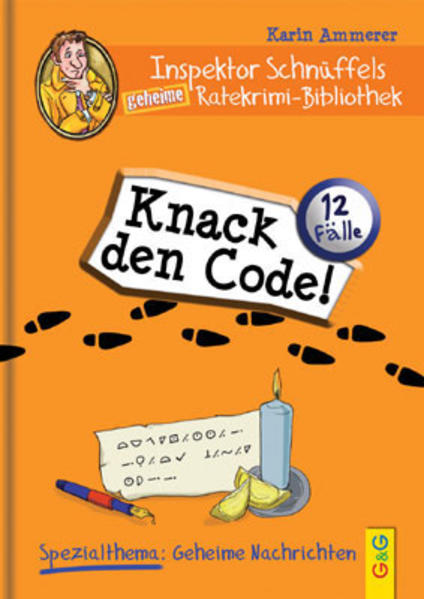 Inspektor Schnüffels geheime Ratekrimi Bibliothek - Knack den Code! | Weihnachtsmarkt Bonn