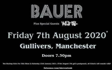 Bauer support new date