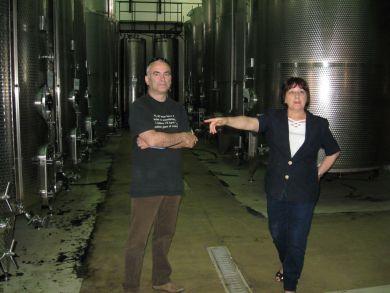 Weinbeobachter im Meridiana Keller