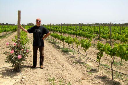 Weinbeobachter bei Meridiana Wine Estate