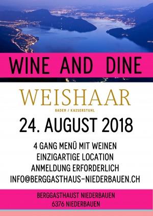 Wine and Dine Niederbauen