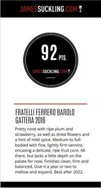 Barolo GATTERA – Fratelli Ferrero