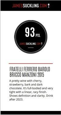 Barolo MANZONI – Fratelli Ferrero