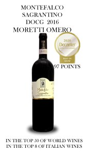 Decanter Awards Sagrantino