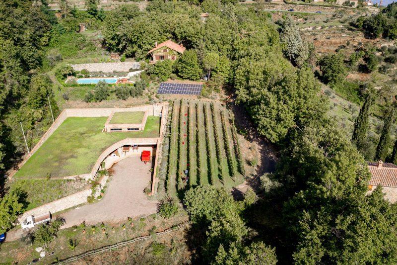 Das Anwesen von Villa i Cipressi