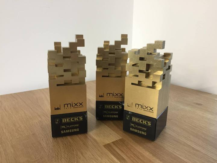 trofee IAB MIXX Awards 2018