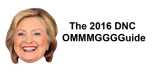 2016 DNC OMMGGuide - What Writers Are Eating & Drinking This Election Season