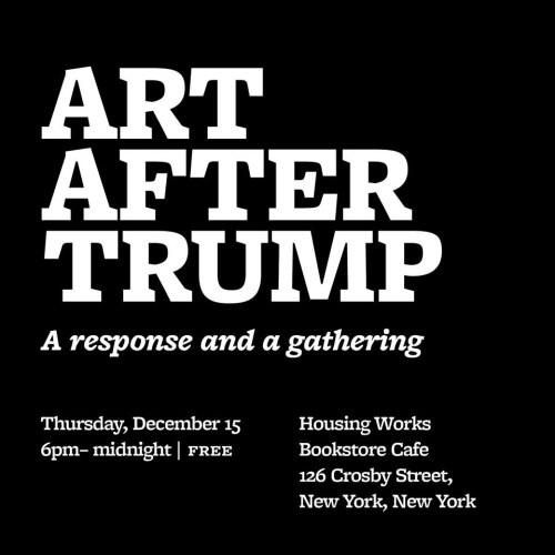 Art After Trump Weird Sister
